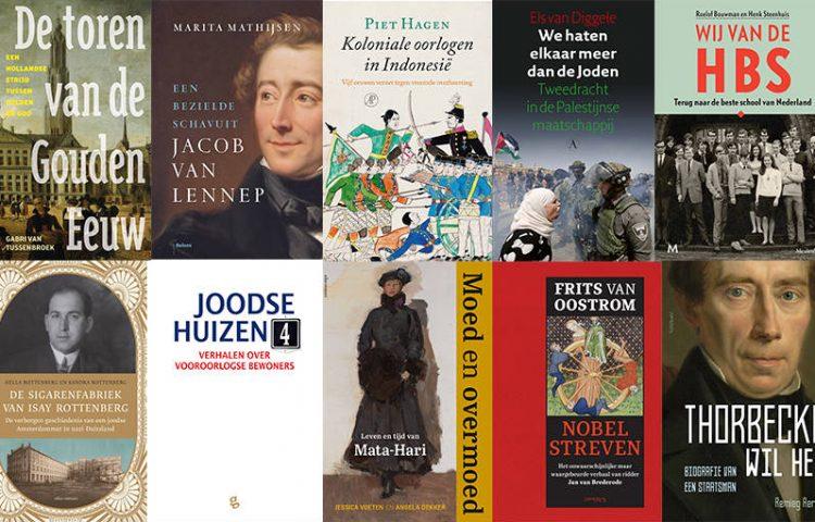 Longlist van de Libris Geschiedenis Prijs 2018