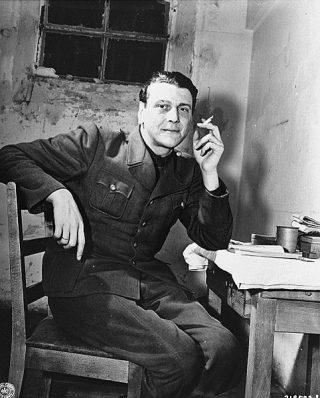 Otto Skorzeny in gevangenschap, november 1945 (Publiek Domein - USHMM)