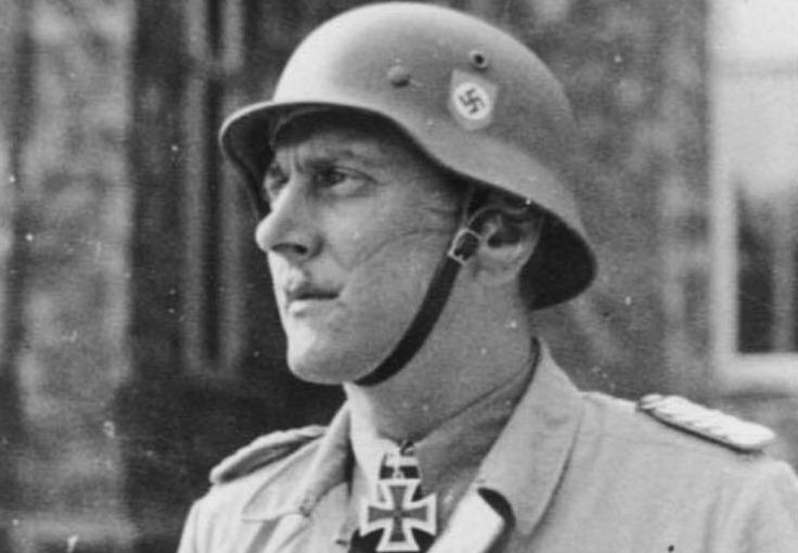 Otto Skorzeny, 1943 - Foto van Kurt Alber (CC-BY-SA 3.0 - Bundesarchiv)