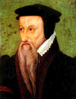 Théodore de Bèze in 1577 (Publiek Domein - wiki)