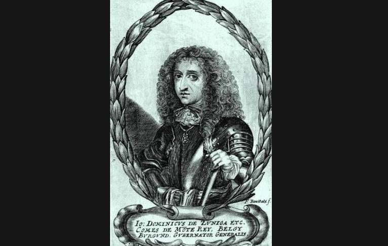 Juan Domingo de Méndez de Haro, landvoogd van de Spaanse Nederlanden (Publiek Domein - wiki)