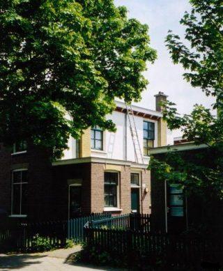 Van Hogendorpstraat in Den Haag, een negentiende-eeuws arbeidershofje (CC BY-SA 3.0 - wiki)