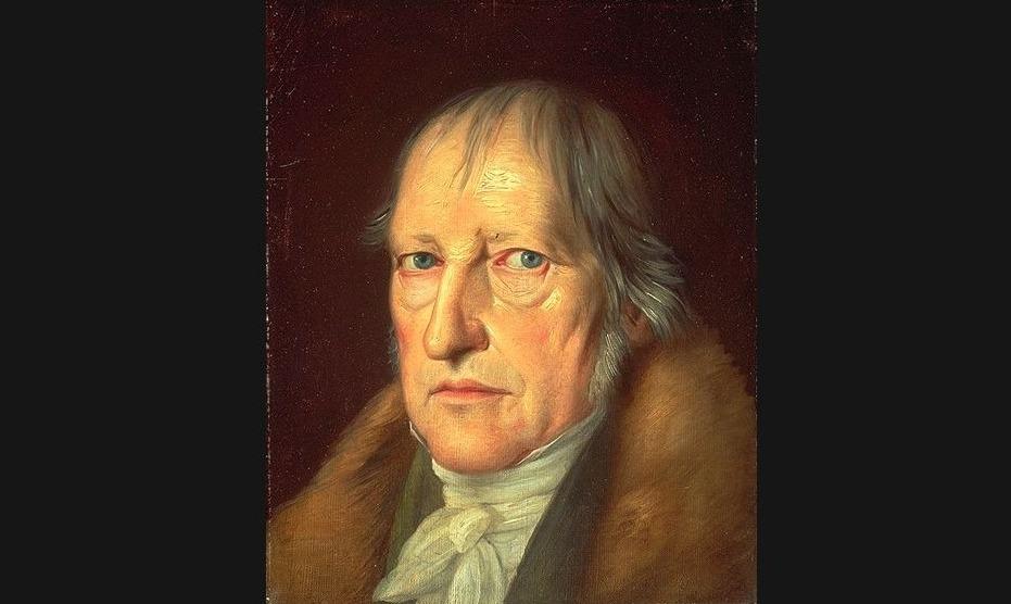 Georg Wilhelm Friedrich Hegel, schilderij van Jakob Schlesinger (Publiek Domein - wiki)