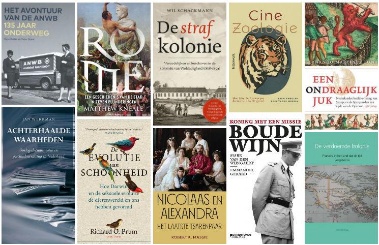 Nieuwe geschiedenisboeken (week 27/28) - 2018