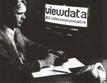 Viewdata (PTT Telecom; Collectie Jak Boumans)