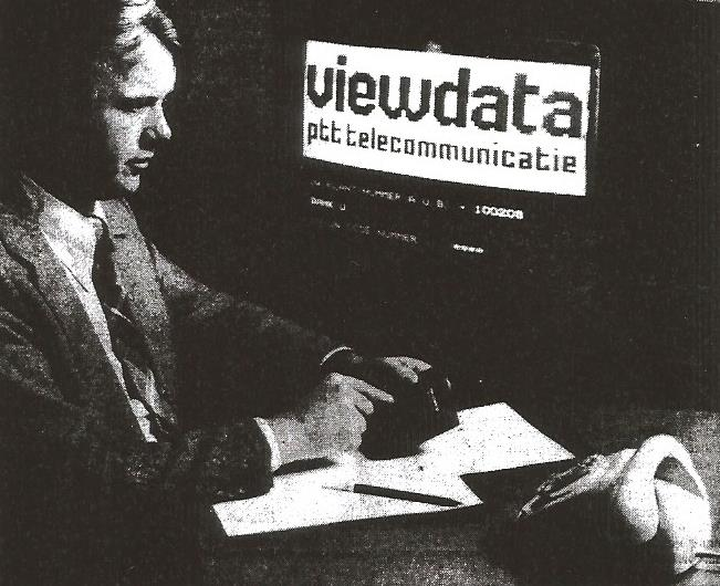 Viewdata (PTT Telecom; Collectie Jak Boumans)