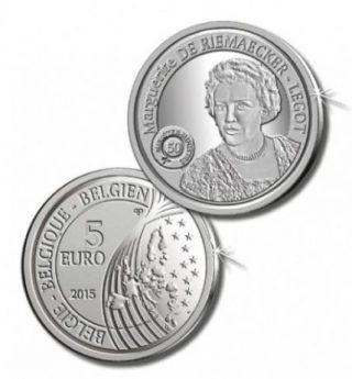 5 euromunt ter ere van Marguerite De Riemaecker-Legot (Euro Coinhouse)