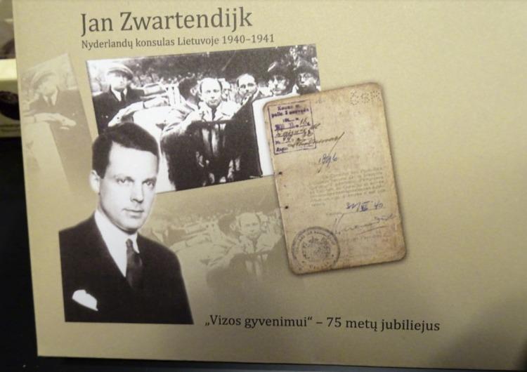 Aandacht voor Jan Zwartendijk in het Sugihara House in Litouwen (Foto Chris Rachel Spatz)