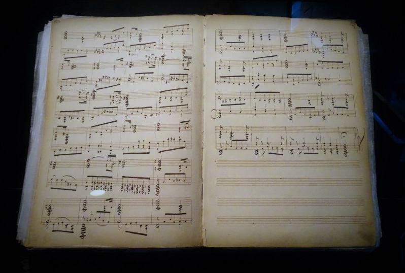 Compositie van Mikalojus Konstantinas Čiurlionis  (Foto: Chris Rachel Spatz)
