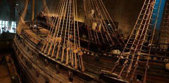 De Vasa, het Zweedse oorlogsschip dat de zee nooit zag (1628)