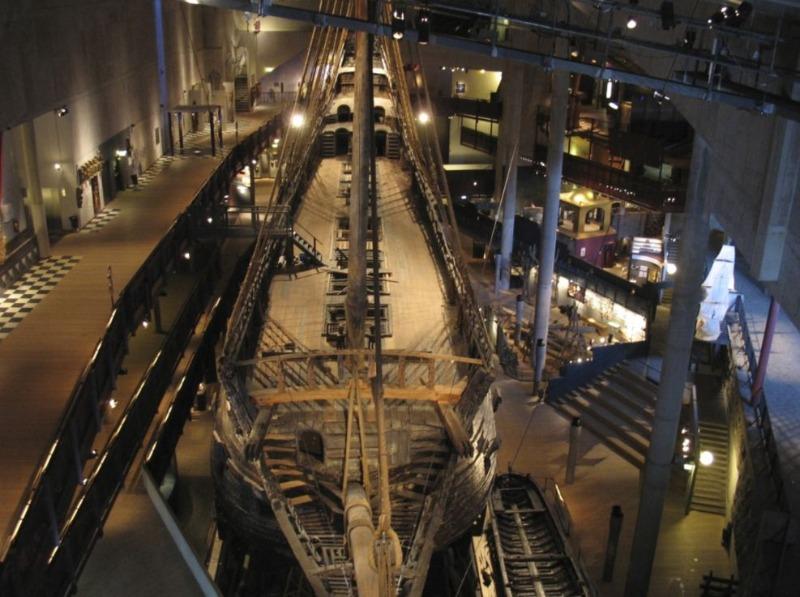 De Vasa van bovenaf gezien (CC BY-SA 3.0 - wiki- Peter Isotalo)