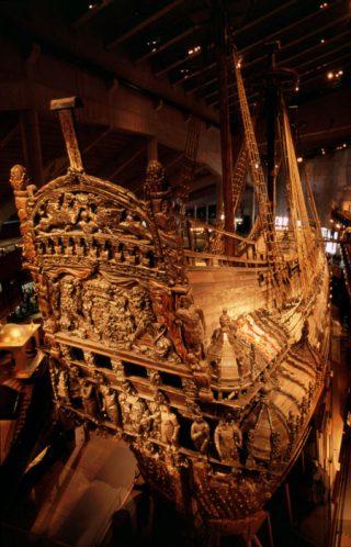 De achtersteven van de Vasa (CC BY 2.0 - Nick Lott - wiki)