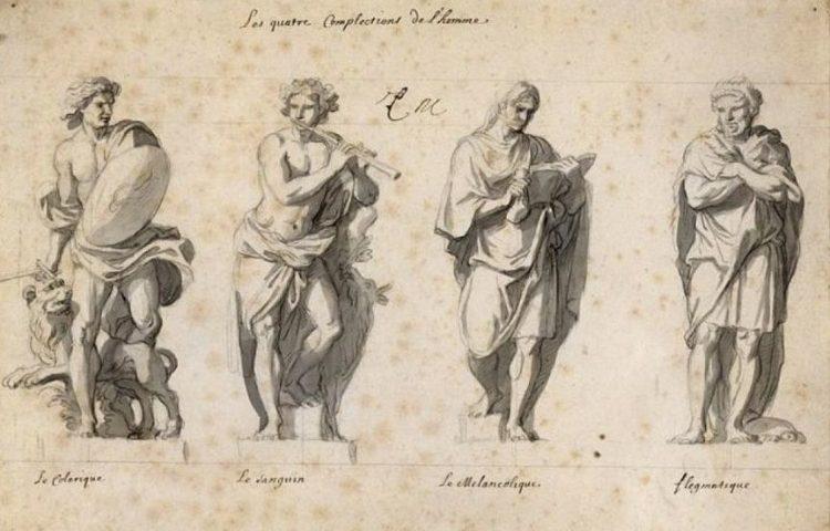 De humorenleer - De vier temperamenten