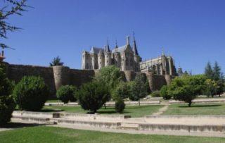 De muren van het huidige Astorga dateren uit de Romeinse tijd (Publiek Domein - wiki - JRA)