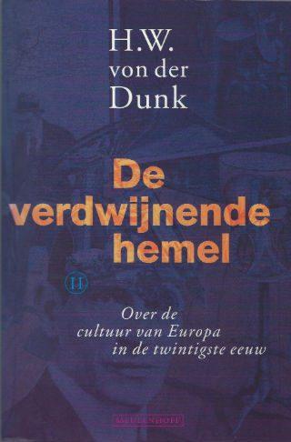 De verdwijnende hemel - H.W. von der Dunk