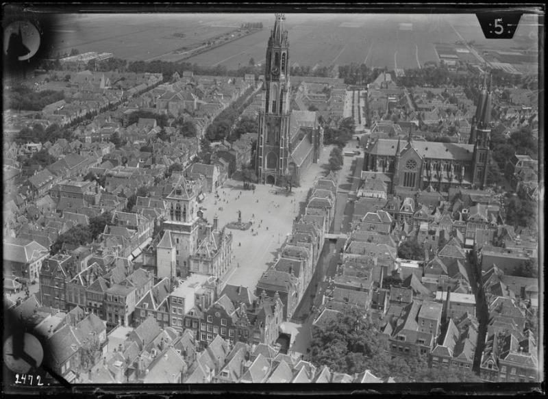 Delft voor 1940 (CC-BY 4.0 – NIMH)