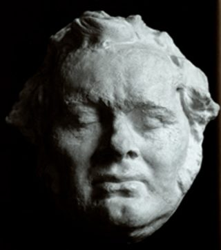 Dodenmasker van Franz Schubert (CC BY-SA 3.0 - SCHUBERTcommons - wiki)