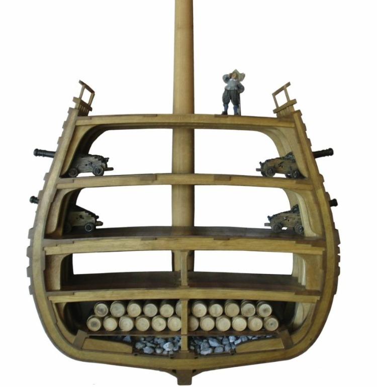 Doorsnede van de Vasa (Publiek Domein - Peter Isotalo)