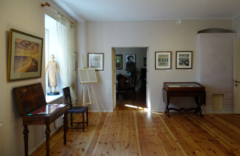 Kamers in het museum in Vilnius (Foto: Chris Rachel Spatz)