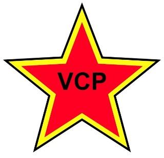 Logo van de Verenigde Communistische Partij (VCP)