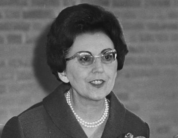 Marguerite De Riemaecker-Legot in 1967 (CC BY-SA 3.0 nl - Rob Kroon / Anefo - wiki)