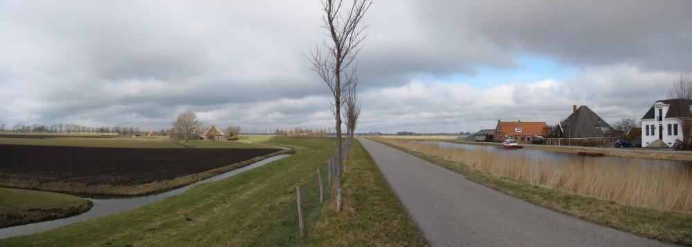 Noorddijk, met links de Beemster. (Publiek Domein – wiki)