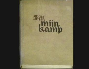 Oude Nederlandse uitgave van Mein Kampf (CC BY 3.0 - wiki - JoJan)