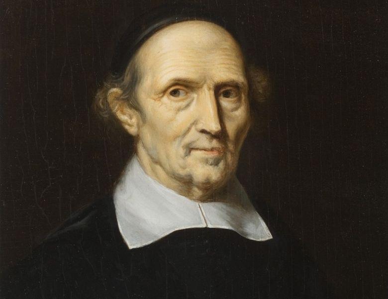 Postuum portret van Gibertus Voetius door Christiaan van Geelen, tussen 1815 en 1826 (CC0 - wiki)