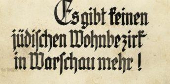 Het Strooprapport (en het einde van het getto van Warschau)