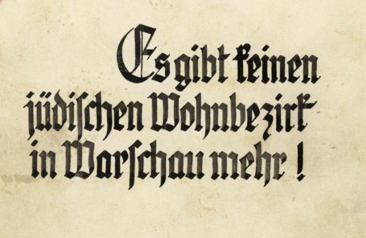Cover van het Strooprapport met daarop de tekst