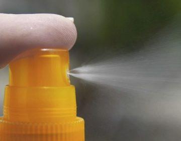 Zonnebrandcrème als spray (CC0 - Pixabay - chezbeate)