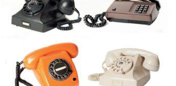 Jaren '50-'70: weinig en vooral kort telefoneren
