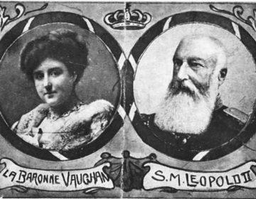 Blanche Delacroix en Leopold II van België