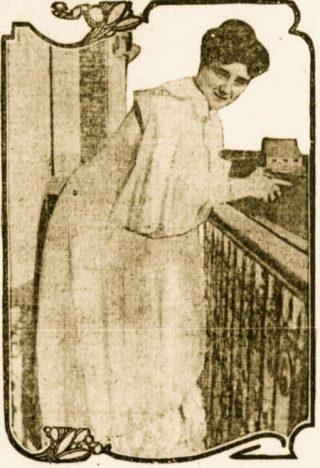 Blanche Delacroix rond 1909 (Publiek Domein - wiki)