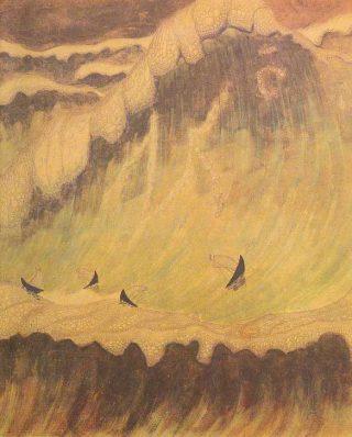 Sonate van de Zee: Finale (1908) - Mikalojus Konstantinas Čiurlionis (Publiek Domein / wiki)