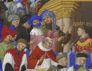 Detail uit 'Les Très Riches Heures'