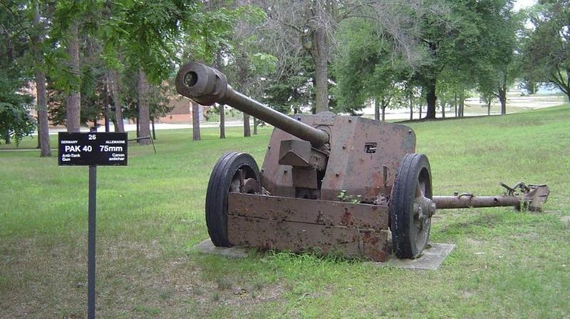 Een Pak 40 bij het Worthington Tank Museum (Ontario, Canada) (CC BY-SA 3.0 - wiki)