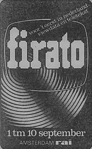 Affiche Firato 1978 (RAI; Collectie Jak Boumans)