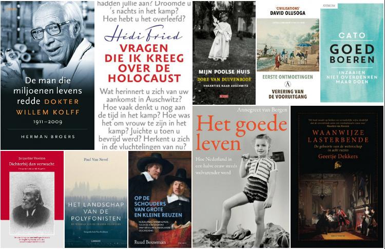 Nieuwe geschiedenisboeken (week 35) - 2018
