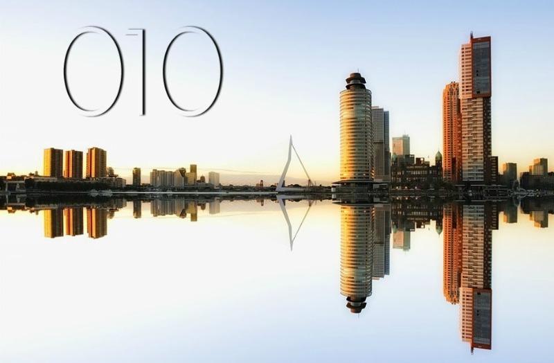 Rotterdam, 010 en geen 020 (CC0 - Pixabay - 3093594 / bewerkt)