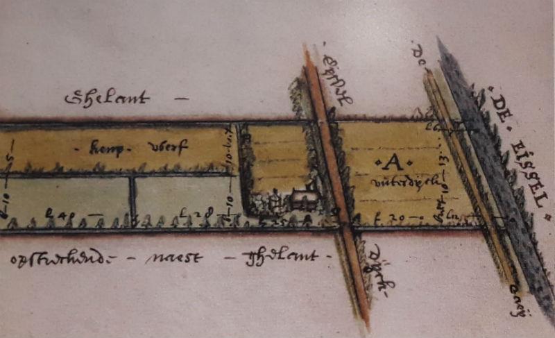 Boerderij met hennepwerf (Foto Historiek / Touwmuseum)