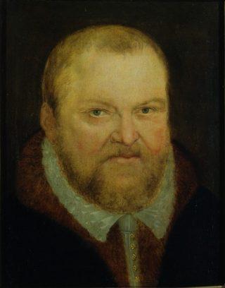 August van Saksen, door Lucas Cranach de Jongere (publiek domein)