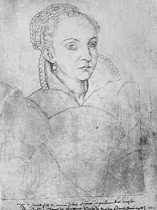 Portret van Anna van Saksen (publiek domein)