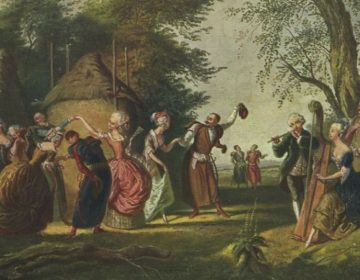 De polonaise - De polonez (Publiek Domein - wiki - Korneli Szlegel )