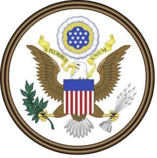 'E pluribus unum' op het grootzegel van de Verenigde Staten