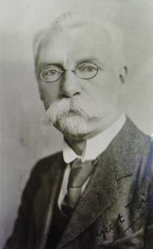 Geert Teis Pzn. (Gerhard Willem Spitzen), auteur van het 'Grönnens Laid'