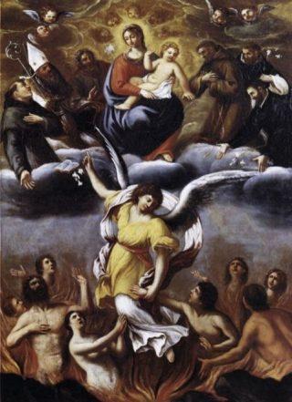 Hemel en vagevuur - Ludovico Carracci
