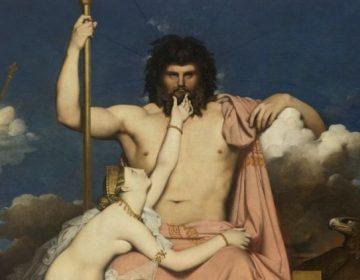 Lijst van Romeinse goden - Jupiter en Thetis (J.A.D. Ingres, 1811)