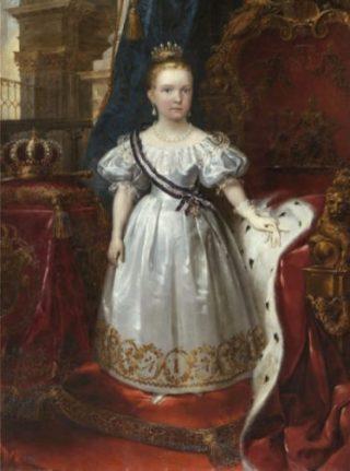 Maria Isabella Louisa als kind