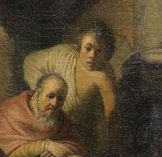 Mogelijk beeldde de jonge Rembrandt ook zichzelf op het werk af